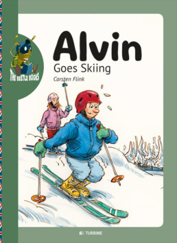Alvin goes skiing
