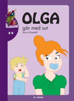 Olga går med sut