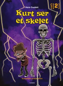 Kurt ser et skelet